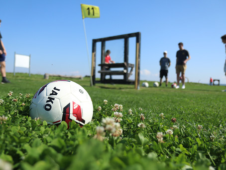 Fußballgolf: KickOff für unsere TalentkaderSR