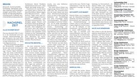 Zeitungsartikel Schiedsrichtermangel in Deutschland - Max Hess