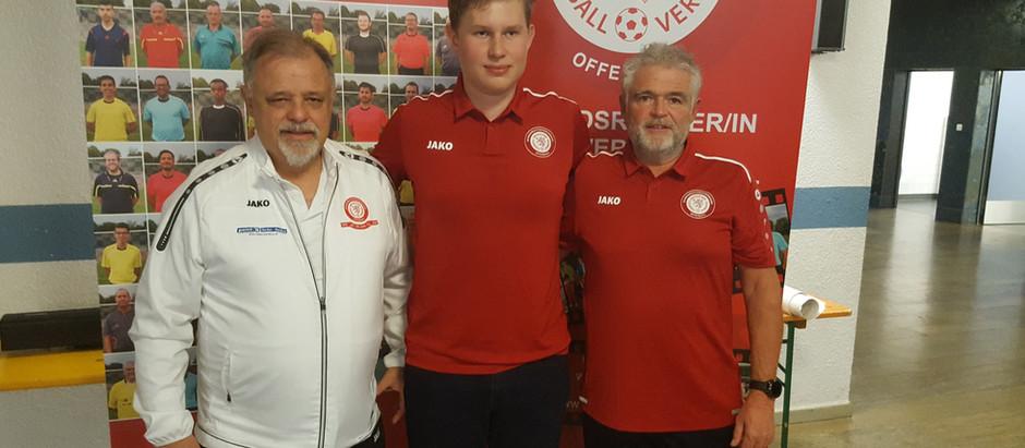 Philip Pietrowski steigt in die Verbandsliga auf