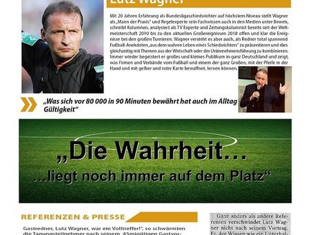 Videokonferenz mit DFB-Lehrwart Lutz Wagner
