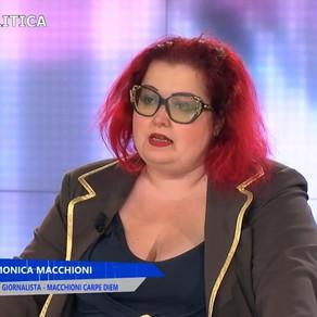 "Monica Macchioni ospite a ""Parole di donna"""
