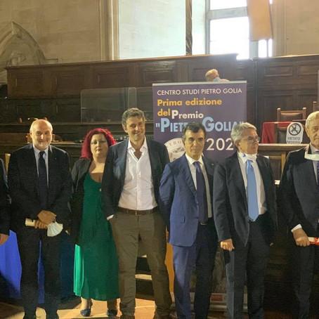A Napoli prima edizione del premio Golia
