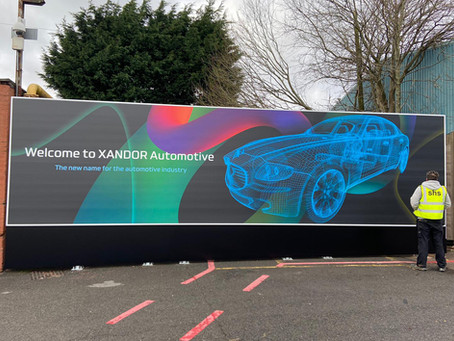 Advertising Hoarding / Billboard install