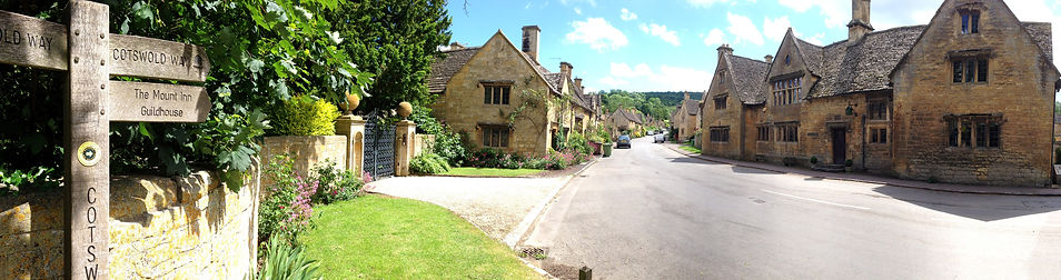 Some of the magnificent village houses.