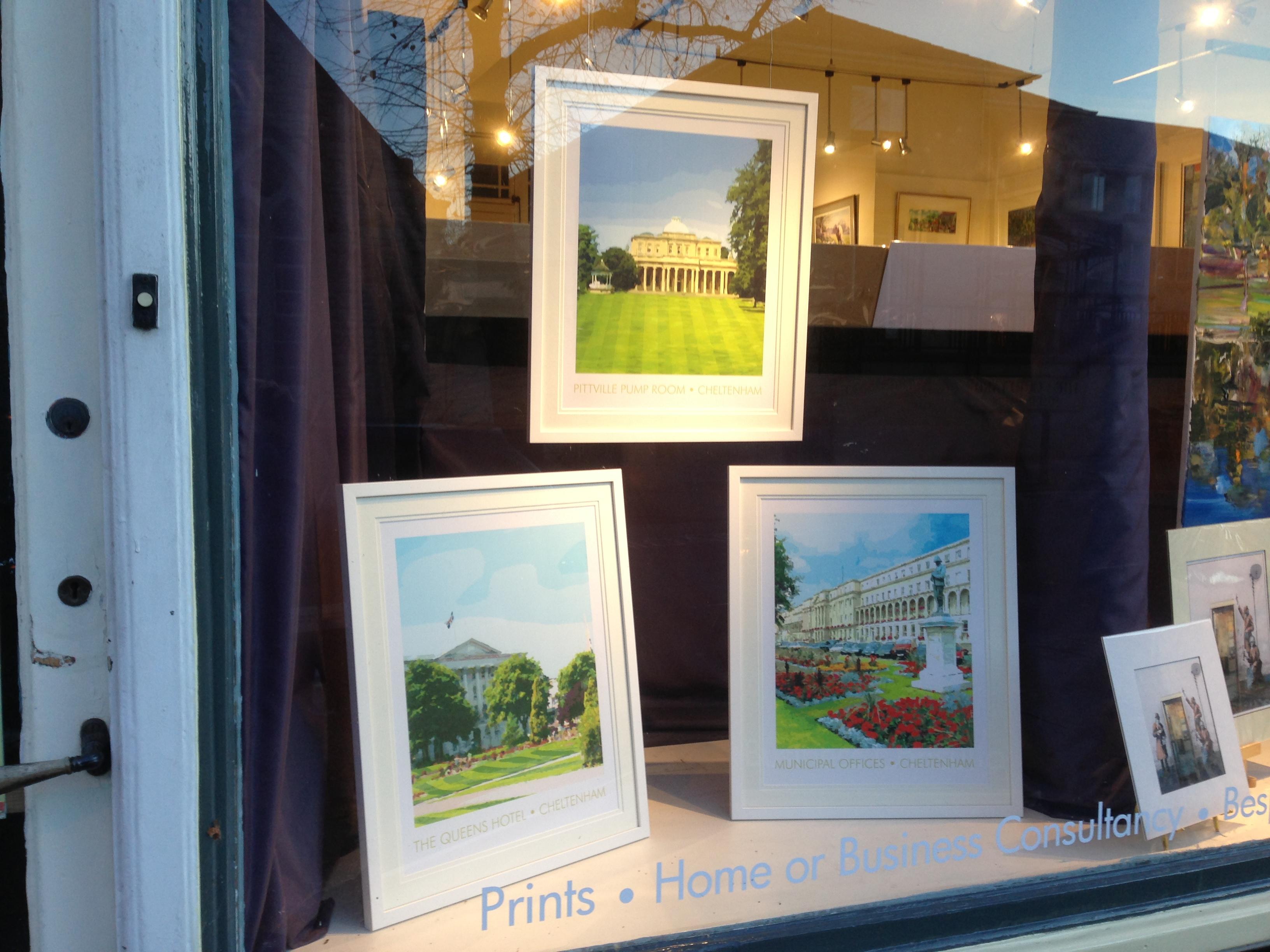 Framed Prints in Montpellier Gallery