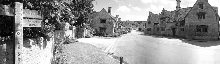 The village of Stanton, Worcestershire
