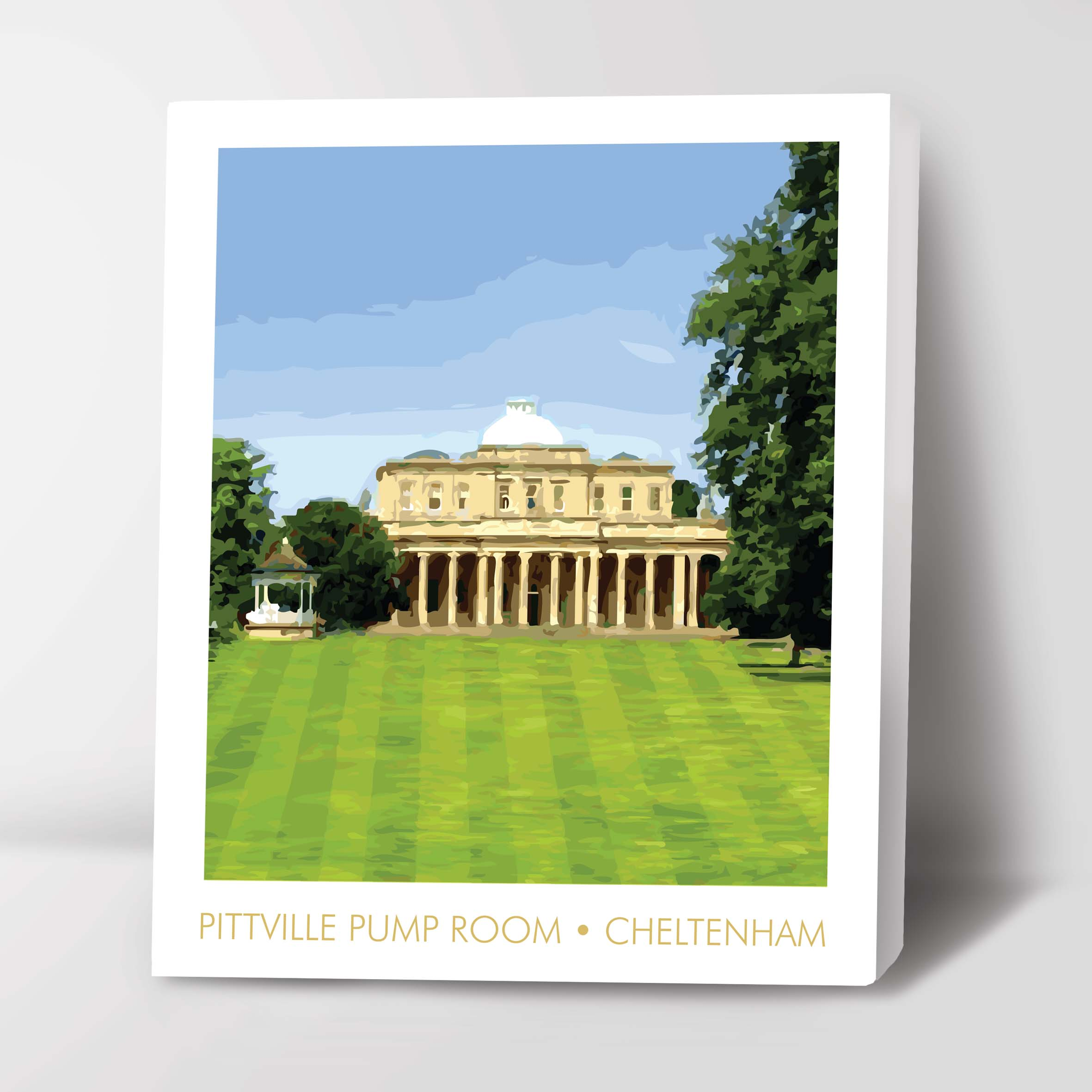 Canvas Image of Pittville Pump Rooms