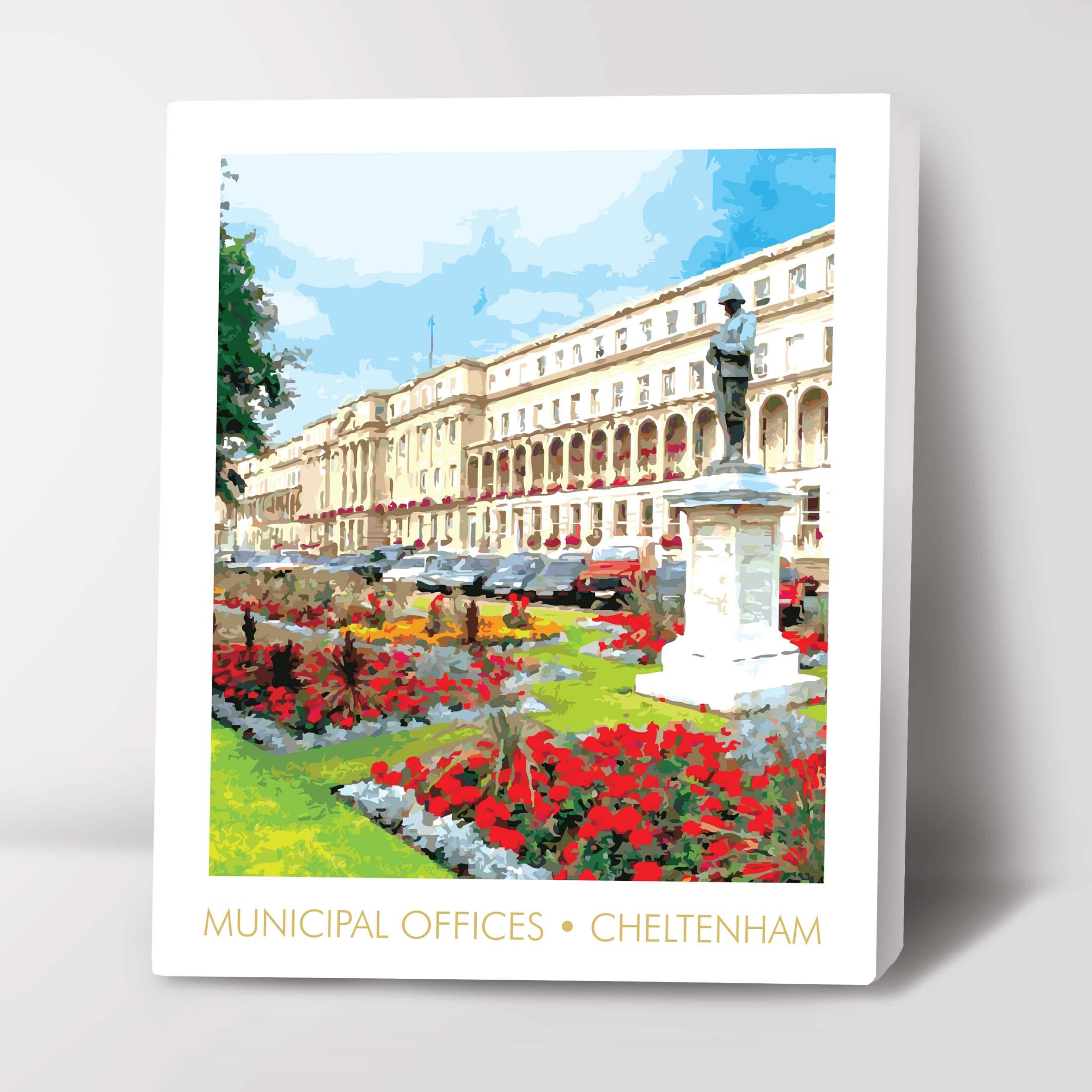 Canvas Image of Promenade Cheltenham