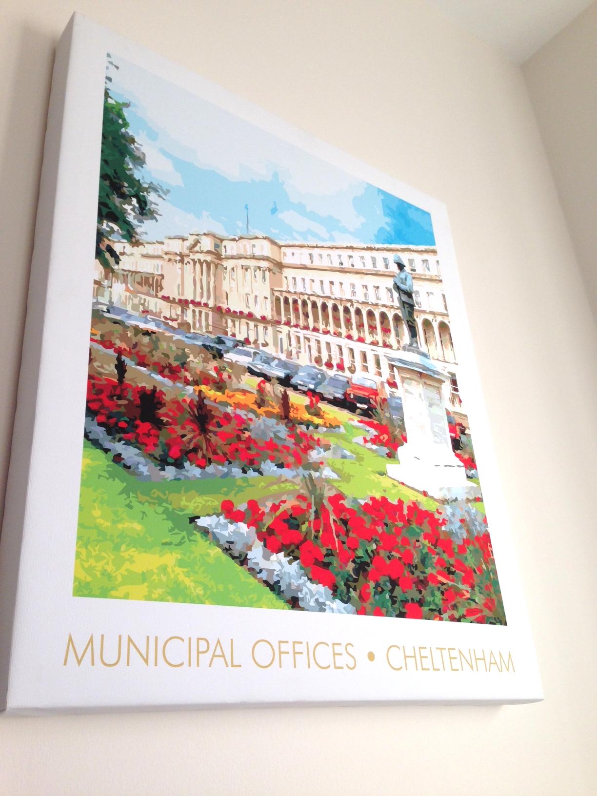 Municipal Office, wall art