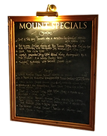 Our seasonal specials incorporate the best local produce available