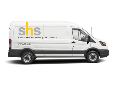 Look out for our vehicles