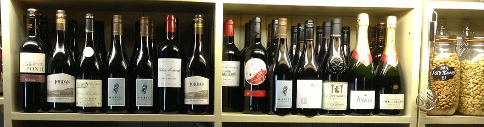 We stock a wide variety of great wines and Champagne