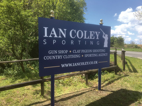 Shooting School Signs, Gloucestershire