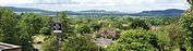 The view across Worcestershire, Gloucestershire etc