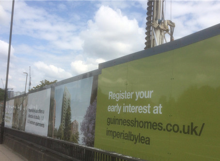 Site Marketing Boards - Printed Hoarding
