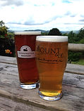 Beers and ales at The Mount