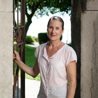 Chantal Duboux, propriétaire du Caveau des Langins