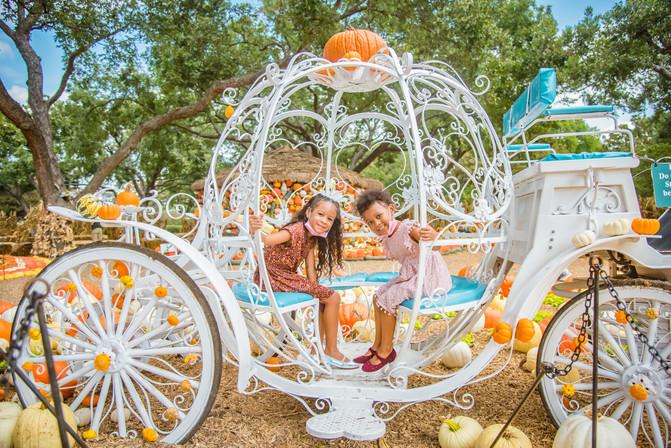 Kids - White Carriage