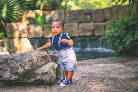 Baby Boy - Standing Pose