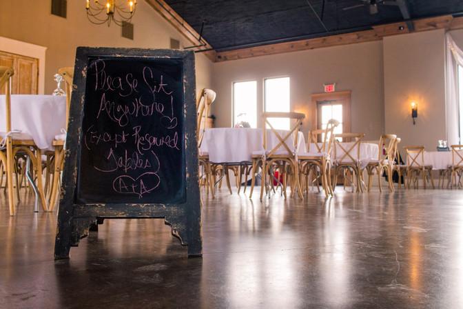 Wedding - Reception Display