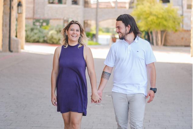 Couple - Street Walking