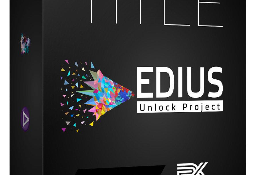 EDIUS PRO | Cinematic Title Projects | Vol 02