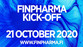 FinPharma kick-off webinar 21 October 2020