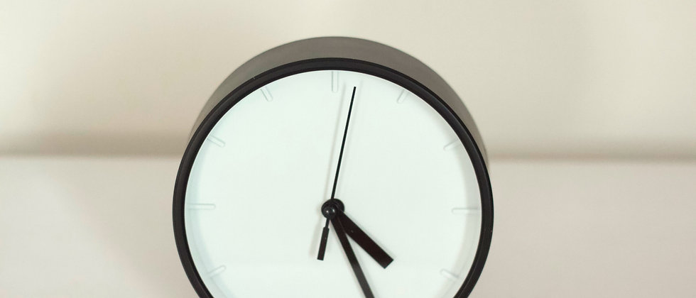 Small Black Clock