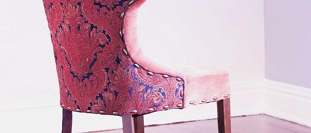 Vermillion Captain's Chair