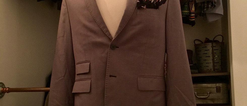 Gray | Navy Wool Jacket