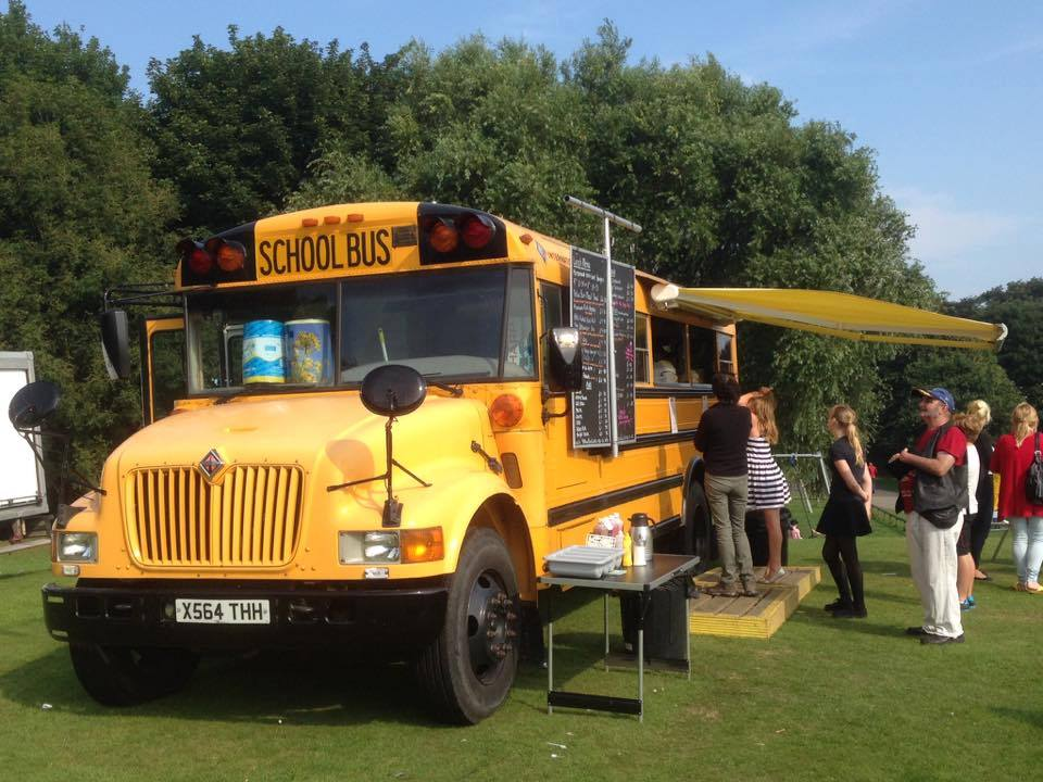 Yellow Bus Catering Event