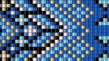 Beaded Belt Pattern #8-B