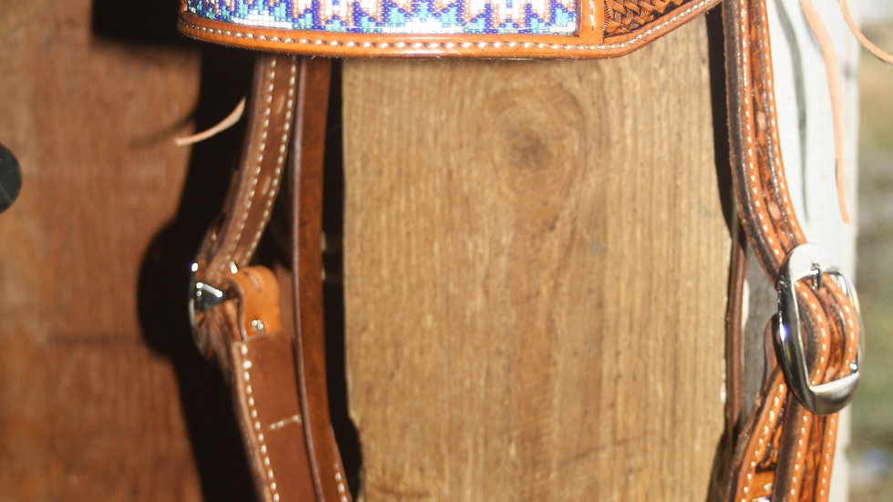 Beaded Headstall Pattern #2