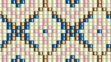 Beaded Belt Pattern #7-B