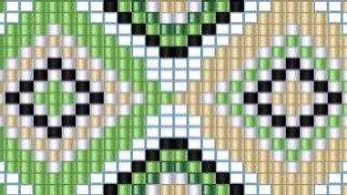 Beaded Belt Pattern #3-B