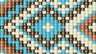 Beaded Belt Pattern #18-B