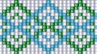 Beaded Belt Pattern #1-B