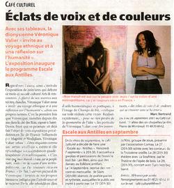 Journal de St Denis N°457 sept 2001