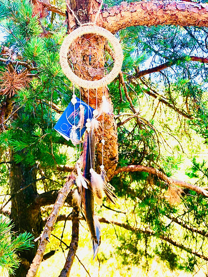 Attrape Rêve Or'A - Pin de Monterey