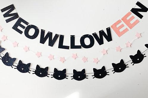Meowloween Garlands