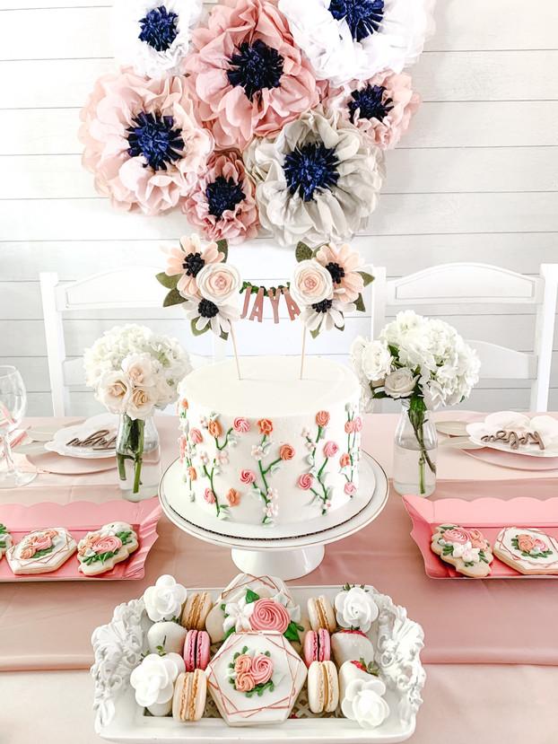 Jaya's Floral Birthday Brunch