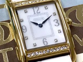 宮崎 COACH コーチ 買取り 高級腕時計 買取り ブランド腕時計買い取り はNOAH(ノア)に おまかせください♪