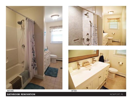 MASTER BATHROOM RENOVATION BEFORE AND AF
