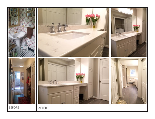 REMODELED BATHROOM & LAUNDRY ROOM