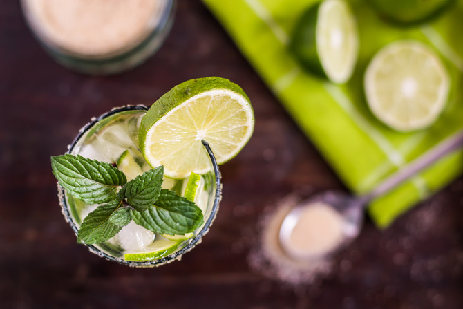 Try a Delicious Refreshing Mojito Tonight at Papaspiros Restaurant and Bar! Opa!