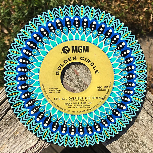It's All Over But The Crying 45RPM