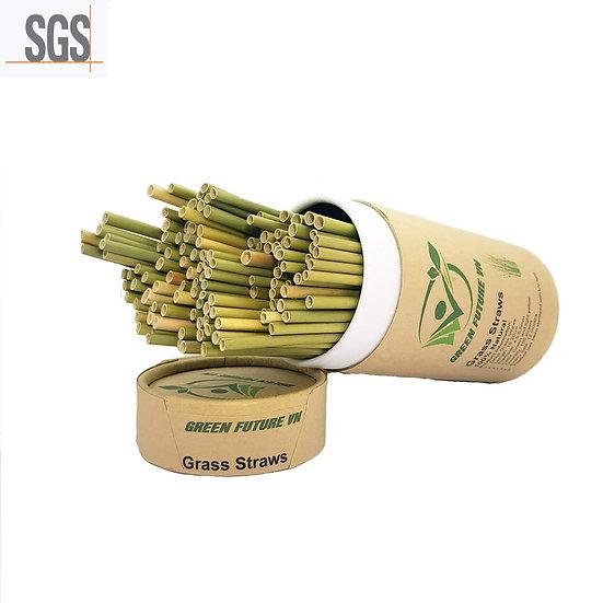 100% sustainable grass straws