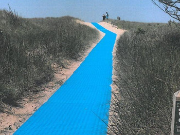 Use of unmarked beach trails causing damage to dunes, Michigan City officials say