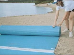 Beaches to feature ADA access mats, 'beach buggies'