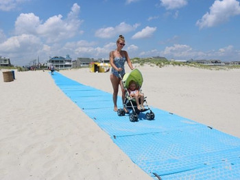 Ocean City's Long Beach Mat Proves Popular